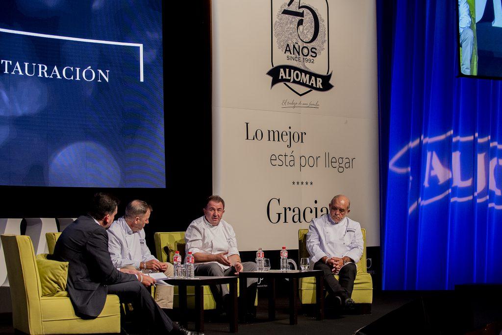 25 Aniversario de Aljomar con Martín Berasategui